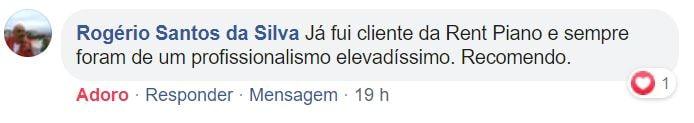 Testemunho Rogério Silva (via Facebook)