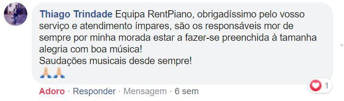 Testemunho Thiago Trindade (via Facebook)